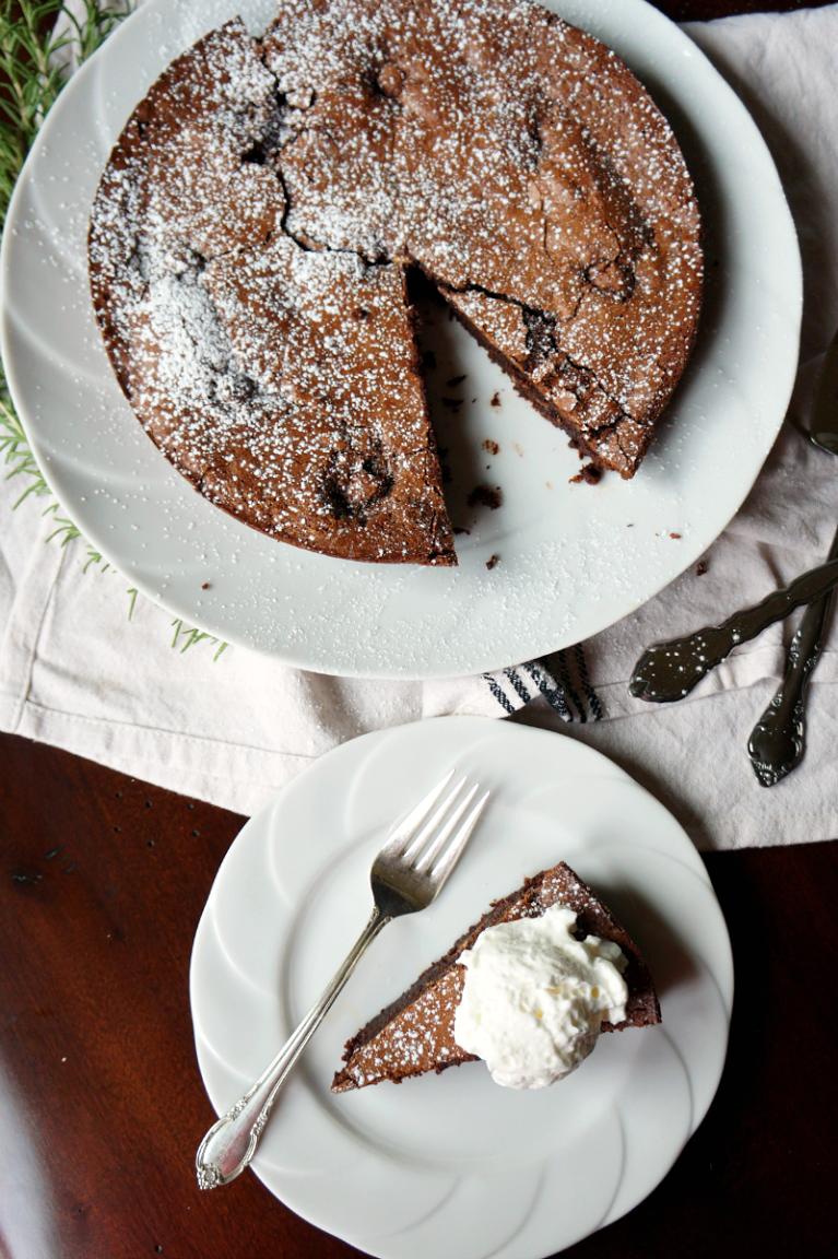Baci-Stuffed Italian Chocolate Cake