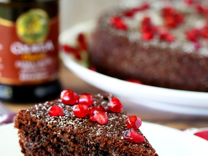 Whole Wheat Chocolate Olive Oil Cake