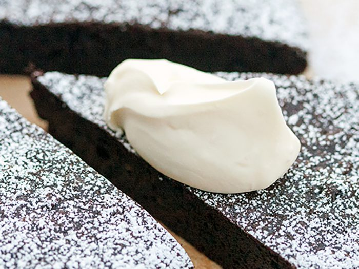 Fruity Flourless Chocolate Olive Oil Cake
