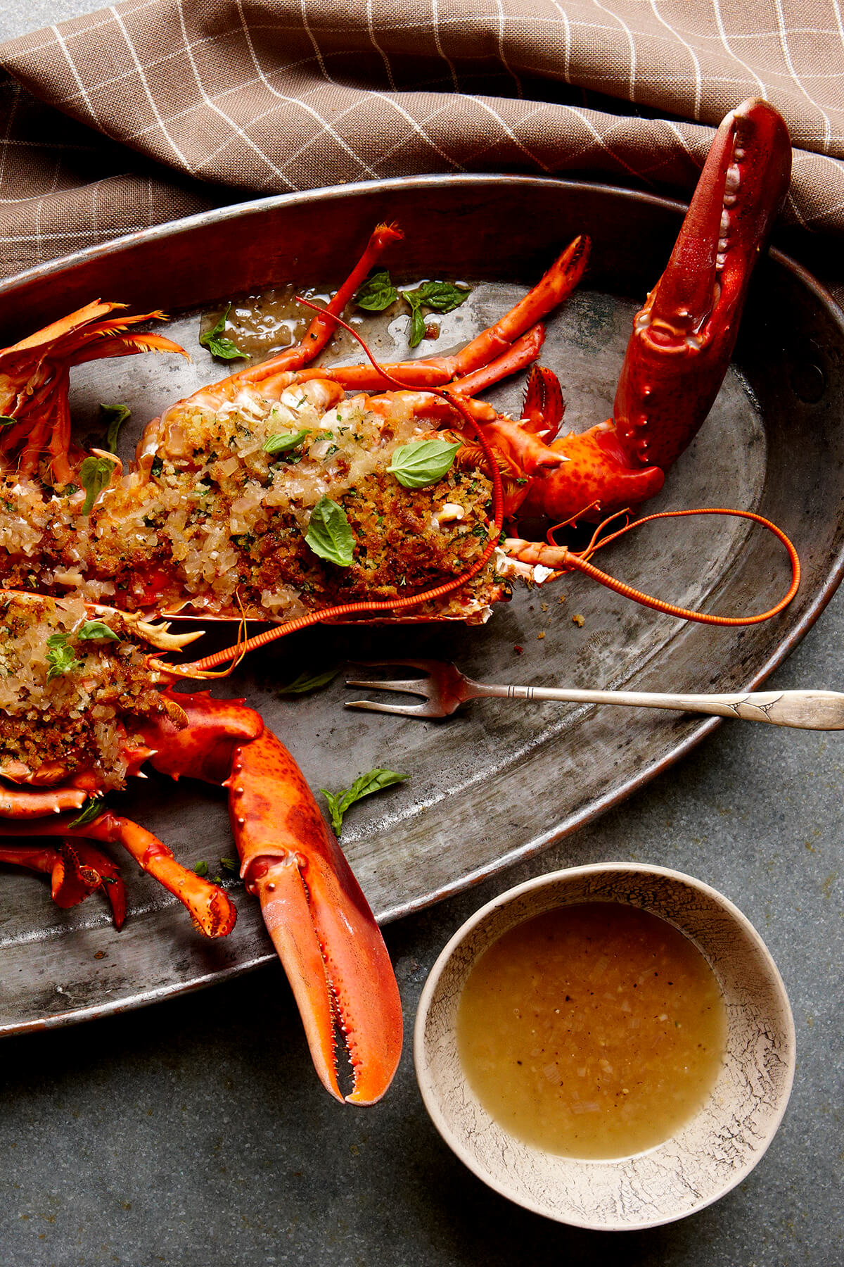 Broiled Lobster With Herbed Breadcrumbs Colavita Recipes