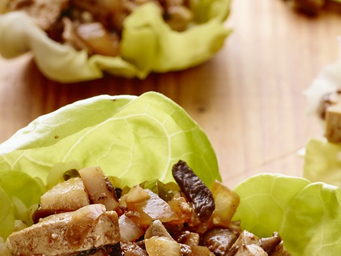 One Pan Lettuce Wraps