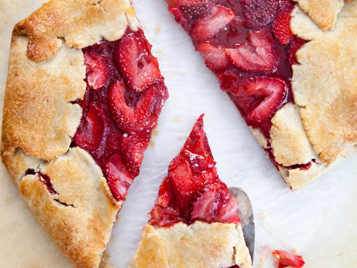Strawberry Chutney Olive Oil Crostata