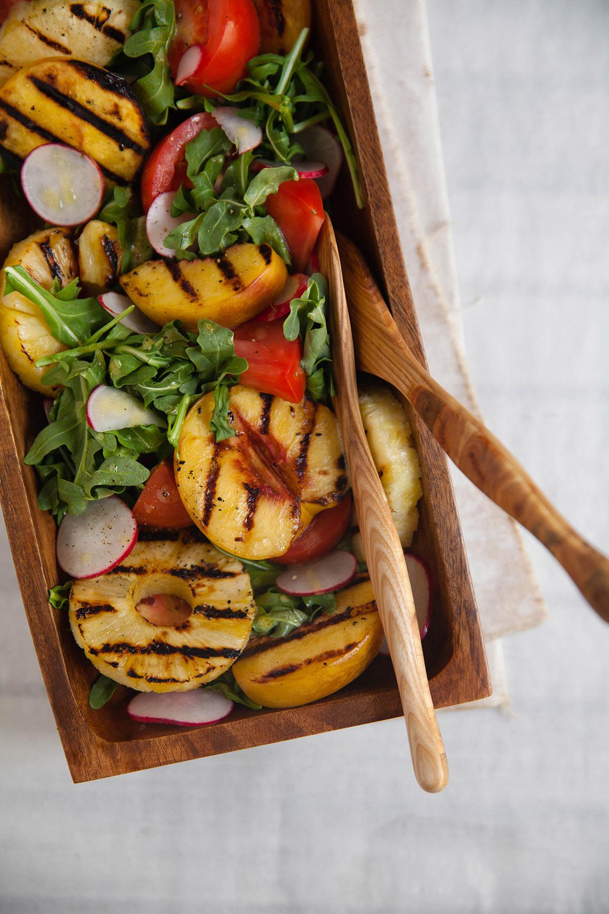Grilled Summer Fruit Salad