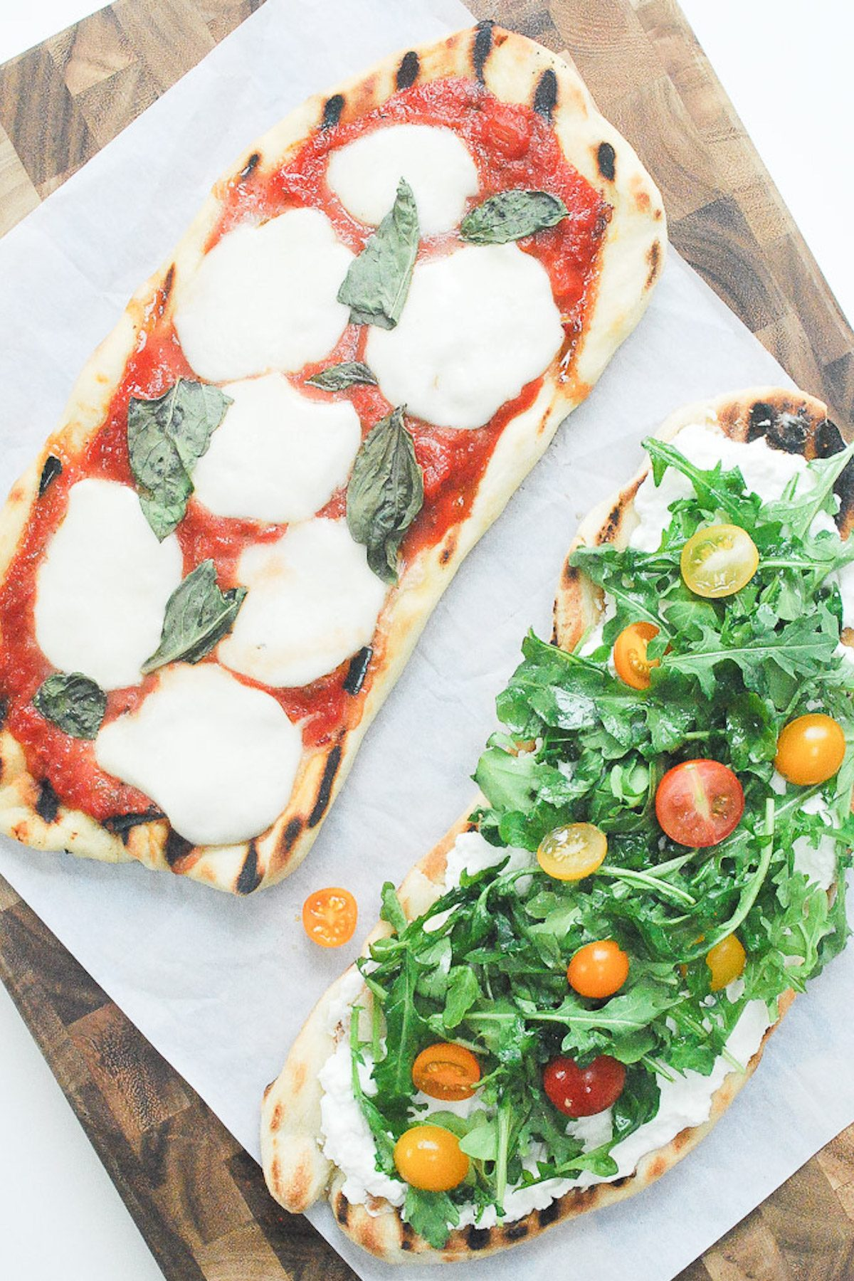 Pizza on the Grill, Two Ways