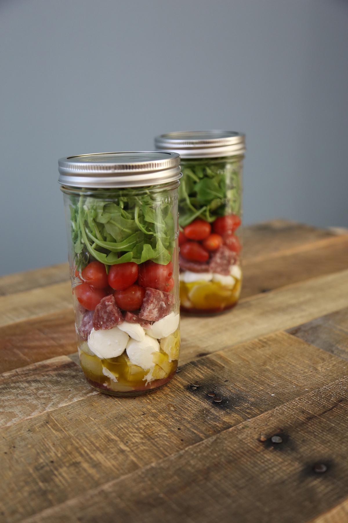 Italian Jar Salad