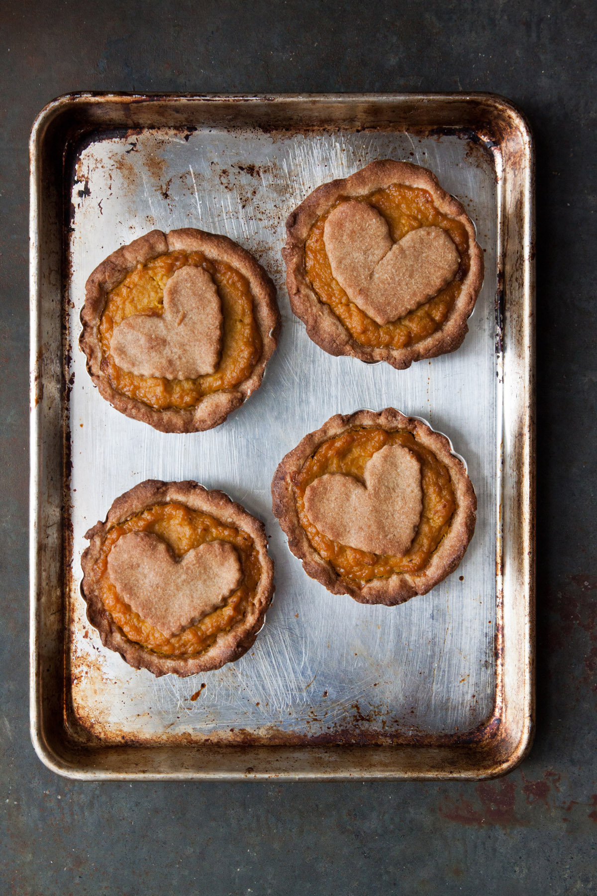 Healthy Mini Pumpkin Pies