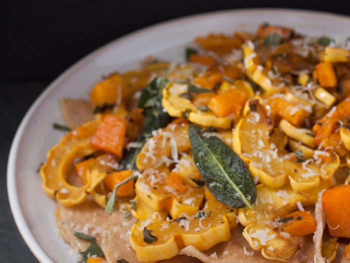 Roasted Pumpkin Whole Wheat Ravioli