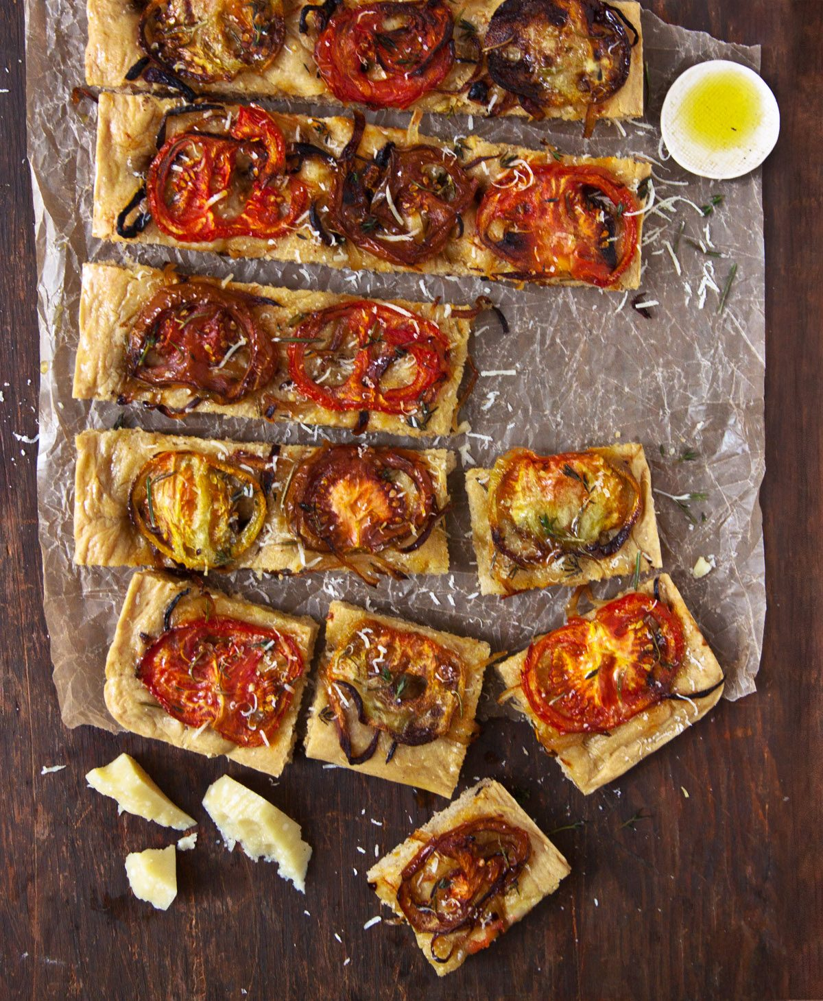Roasted Tomato and Herb Sicilian Pizza