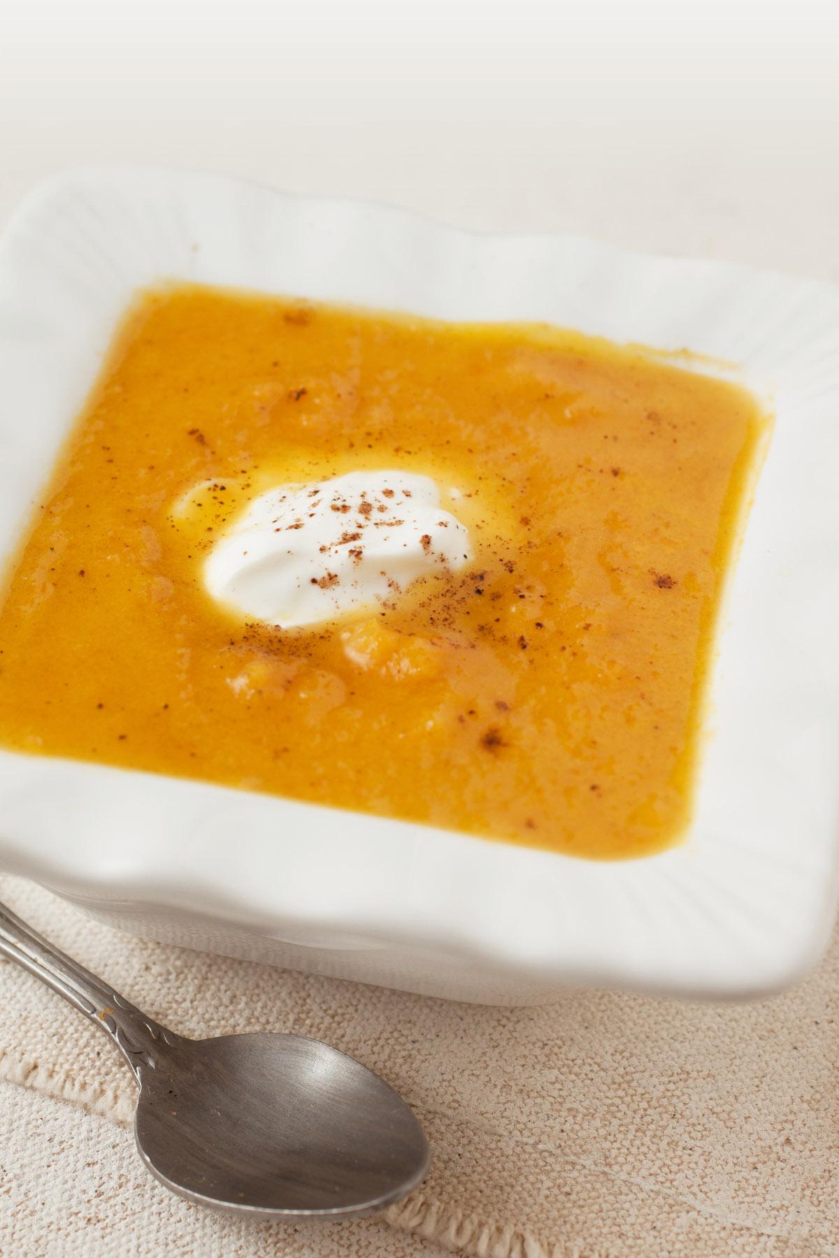 Sweet Pumpkin Soup