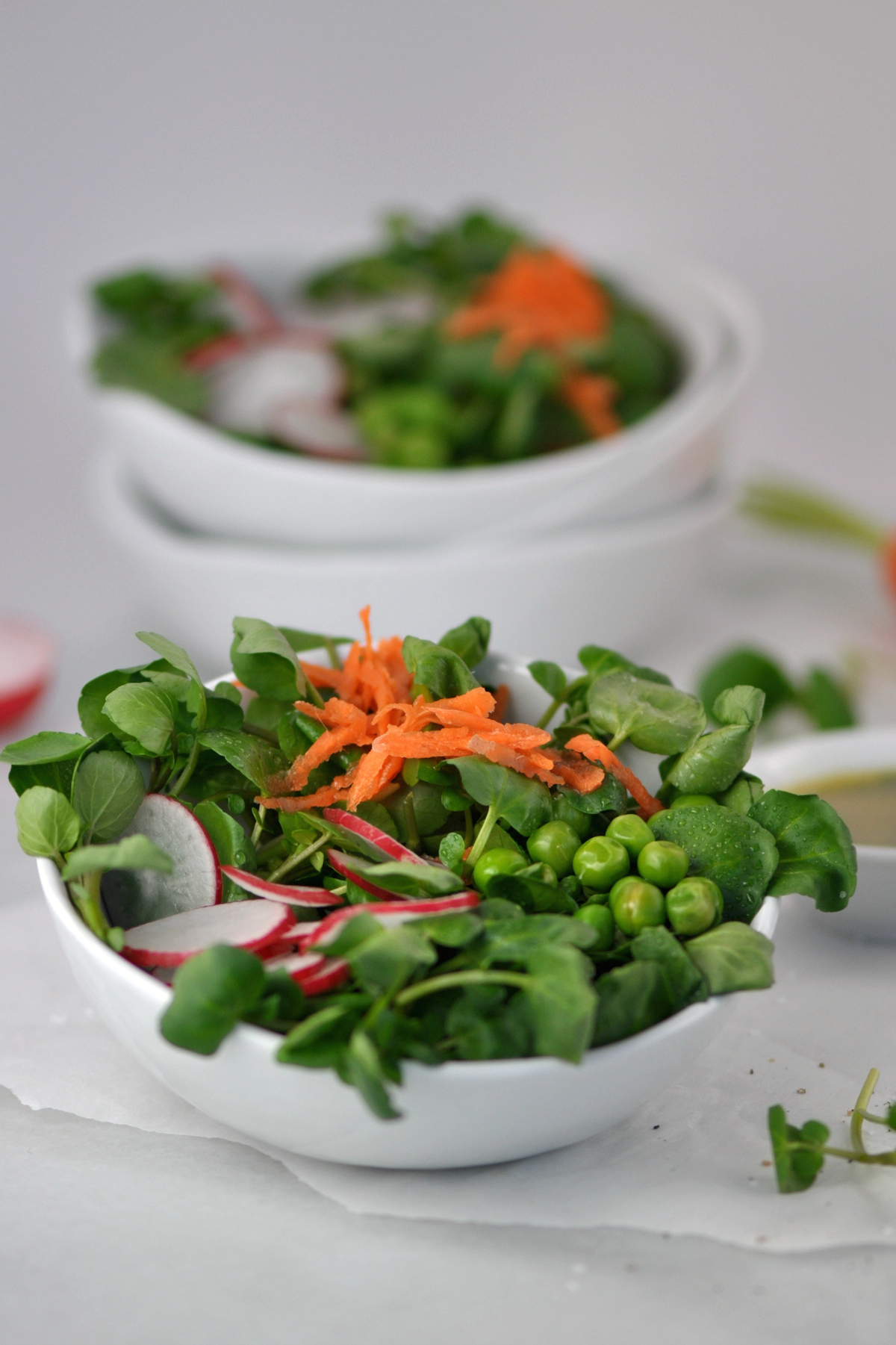 Watercress Salad with Fresh Herb Vinaigrette