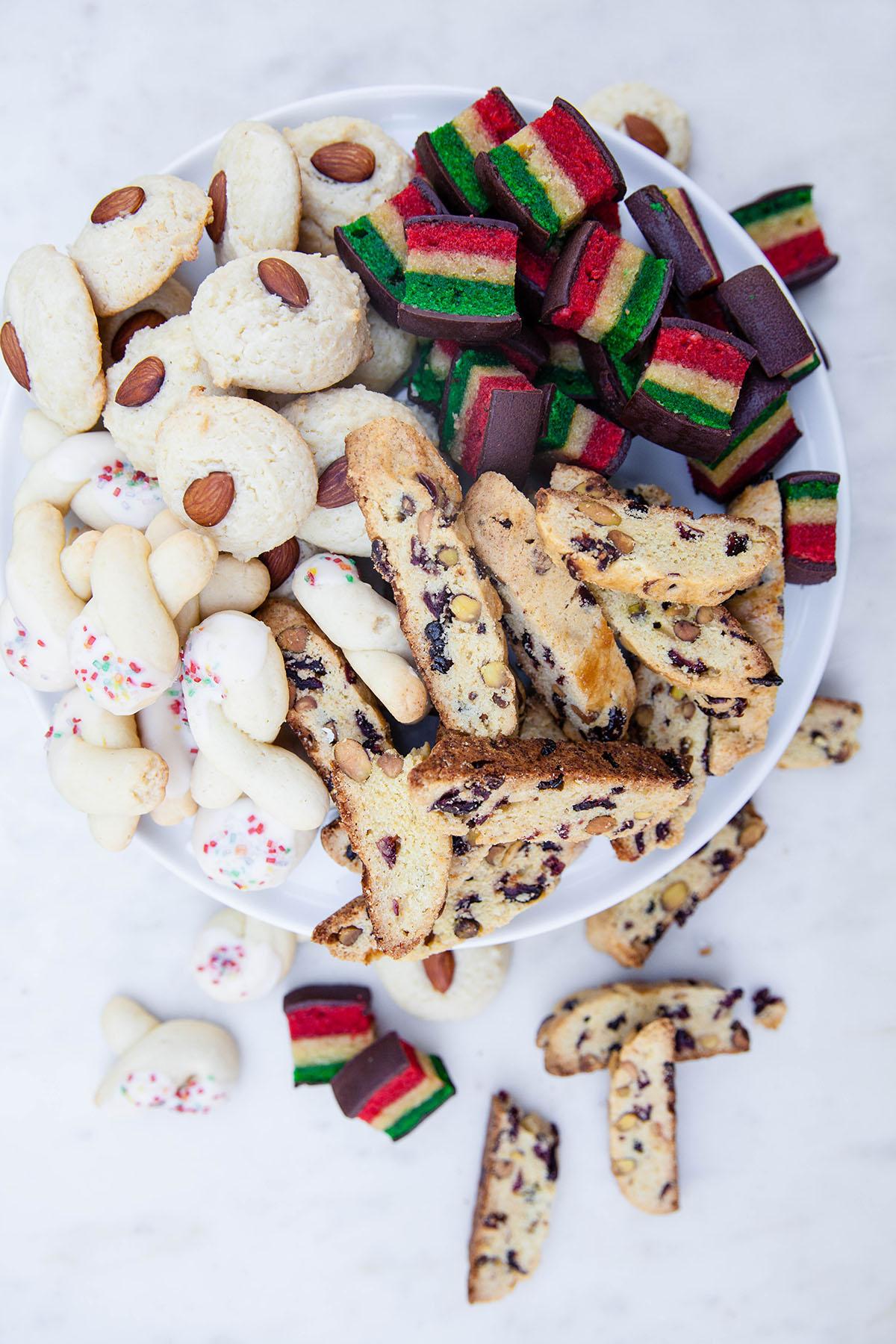 Italian Tricolor Cookies
