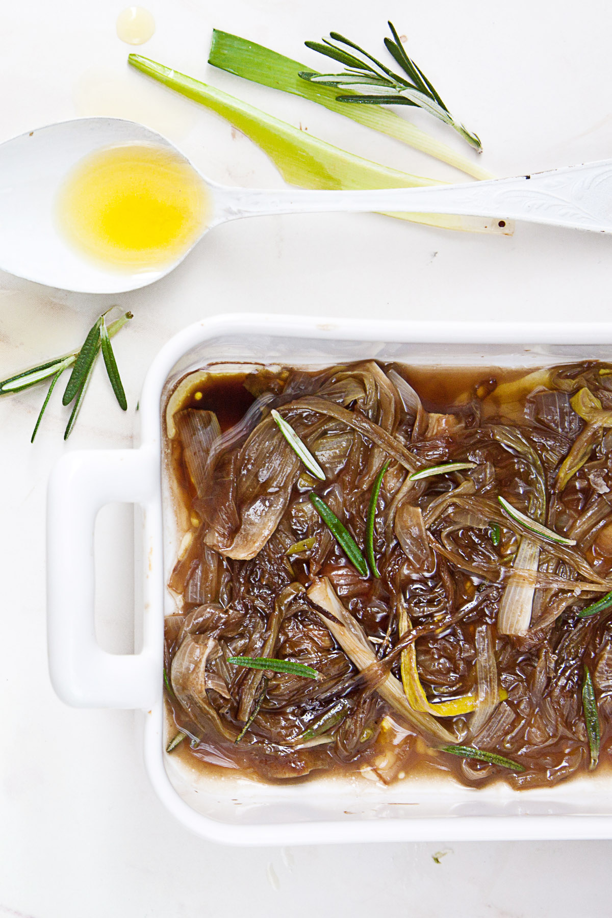 Caramelized Spring Onions