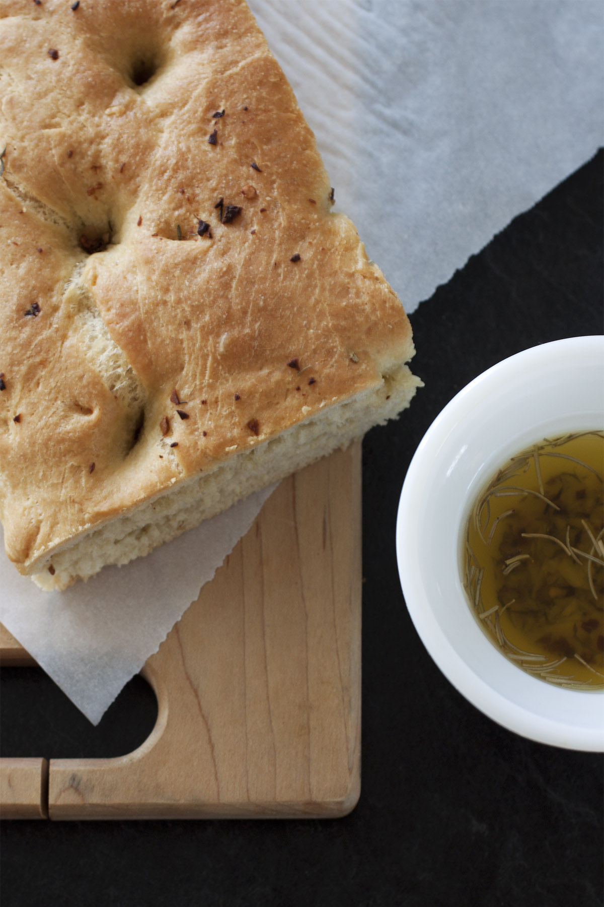Olive-Rosemary Flatbread