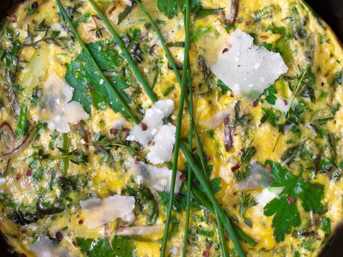 Herb and Leek Frittata