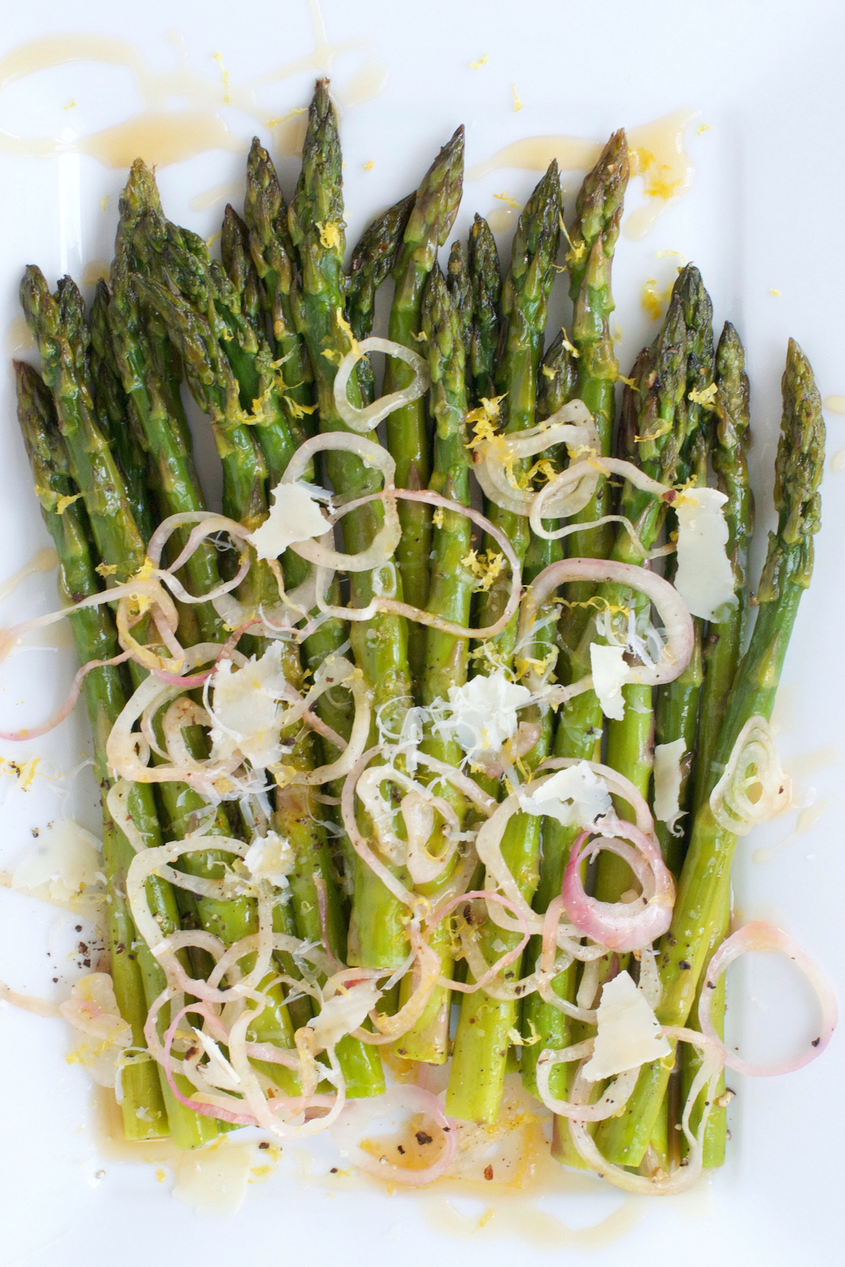 Roasted Asparagus with Shallots