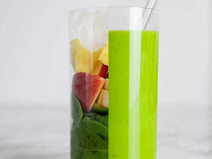 Strengthening Spinach Smoothie