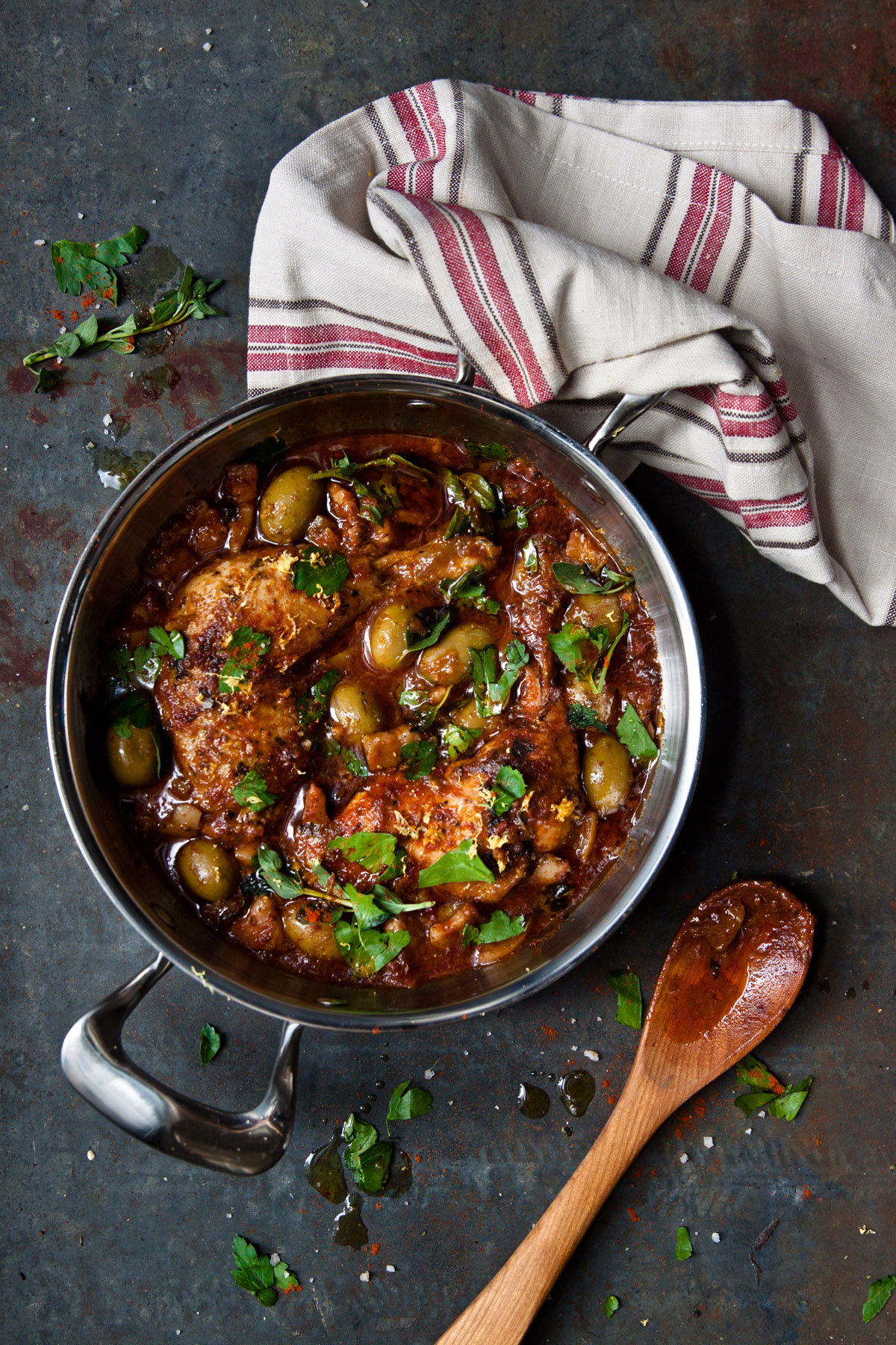 Italian Chicken Tagine