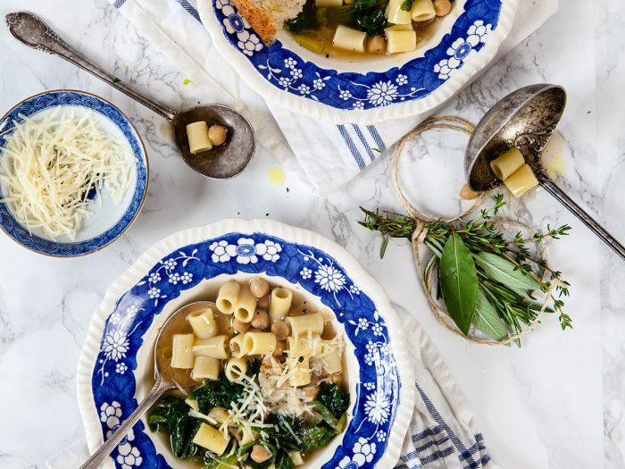Chickpea and Escarole Soup