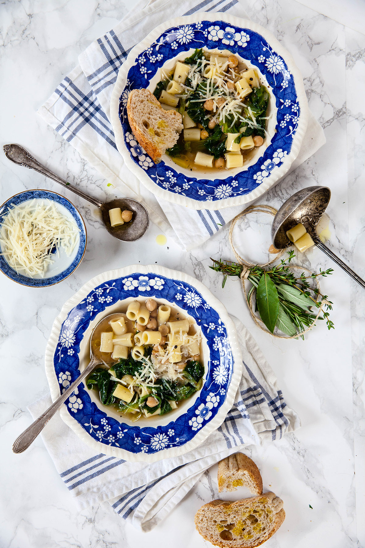 Zuppa di Scarola (Escarole Soup)