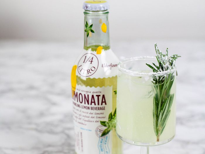 Lemon-Rosemary Shandy Cocktail