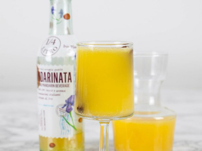 Mandarinata and Elderflower Spritzer