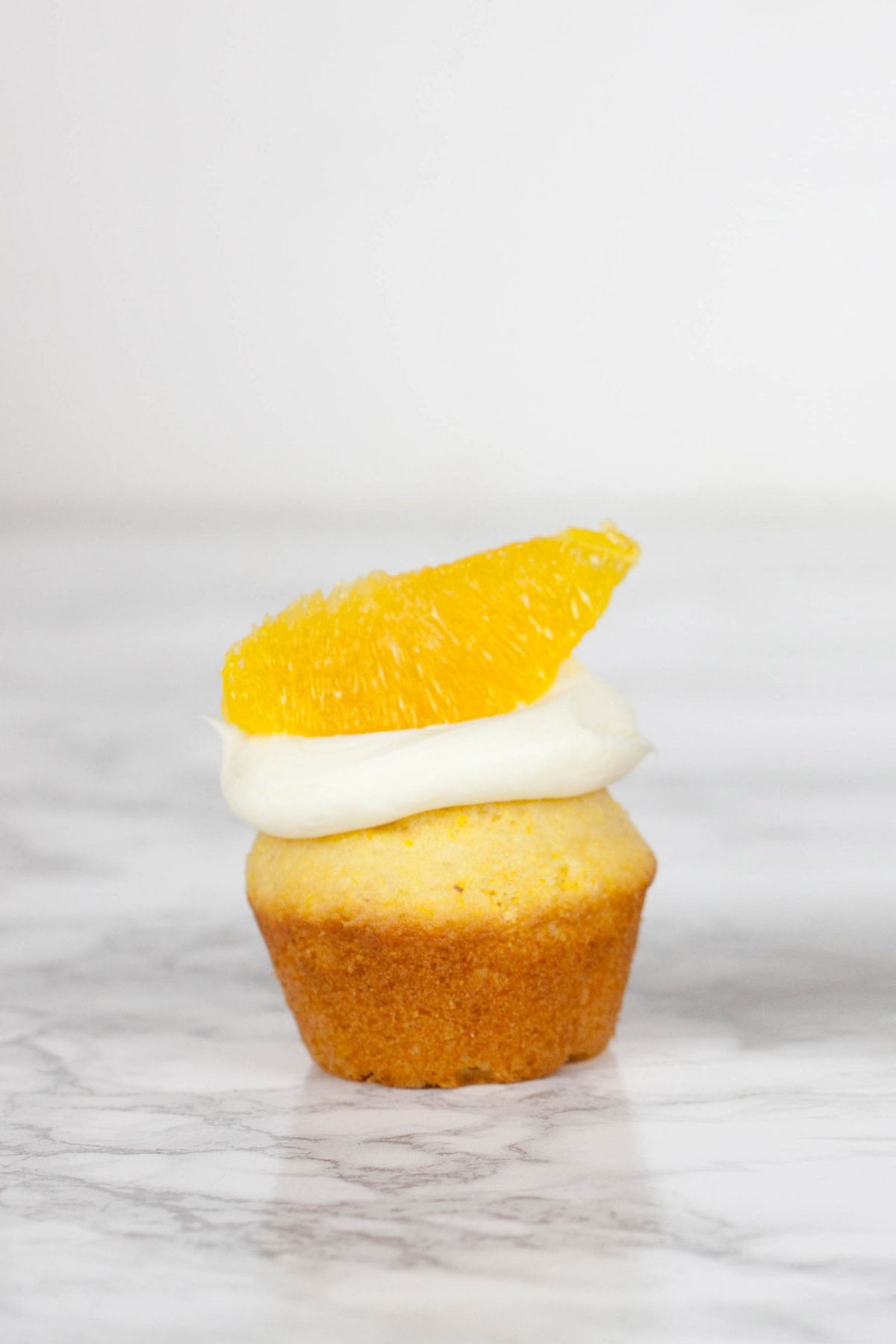 Orange Olive Oil Cupcake