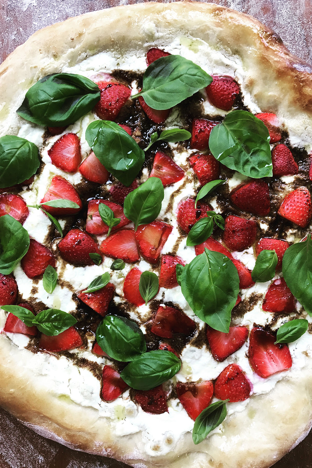 Zaza's Perfect Strawberry Balsamic Pie