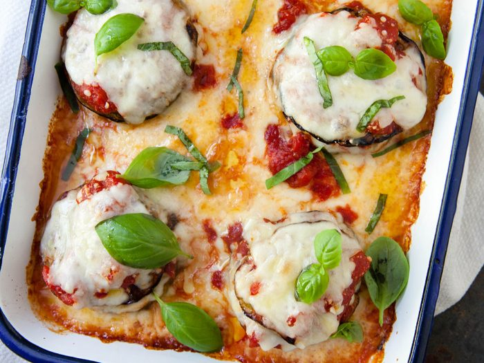 Colavita by Mike Colameco: Grilled Eggplant Parmesan