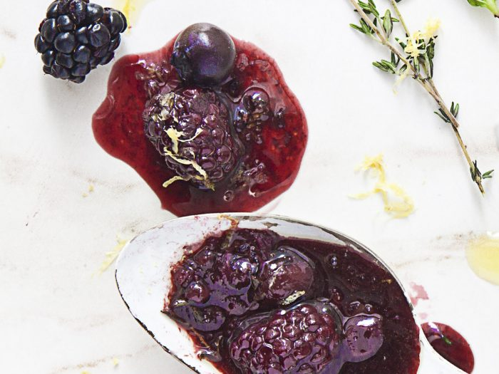 Grilled Berry Sauce
