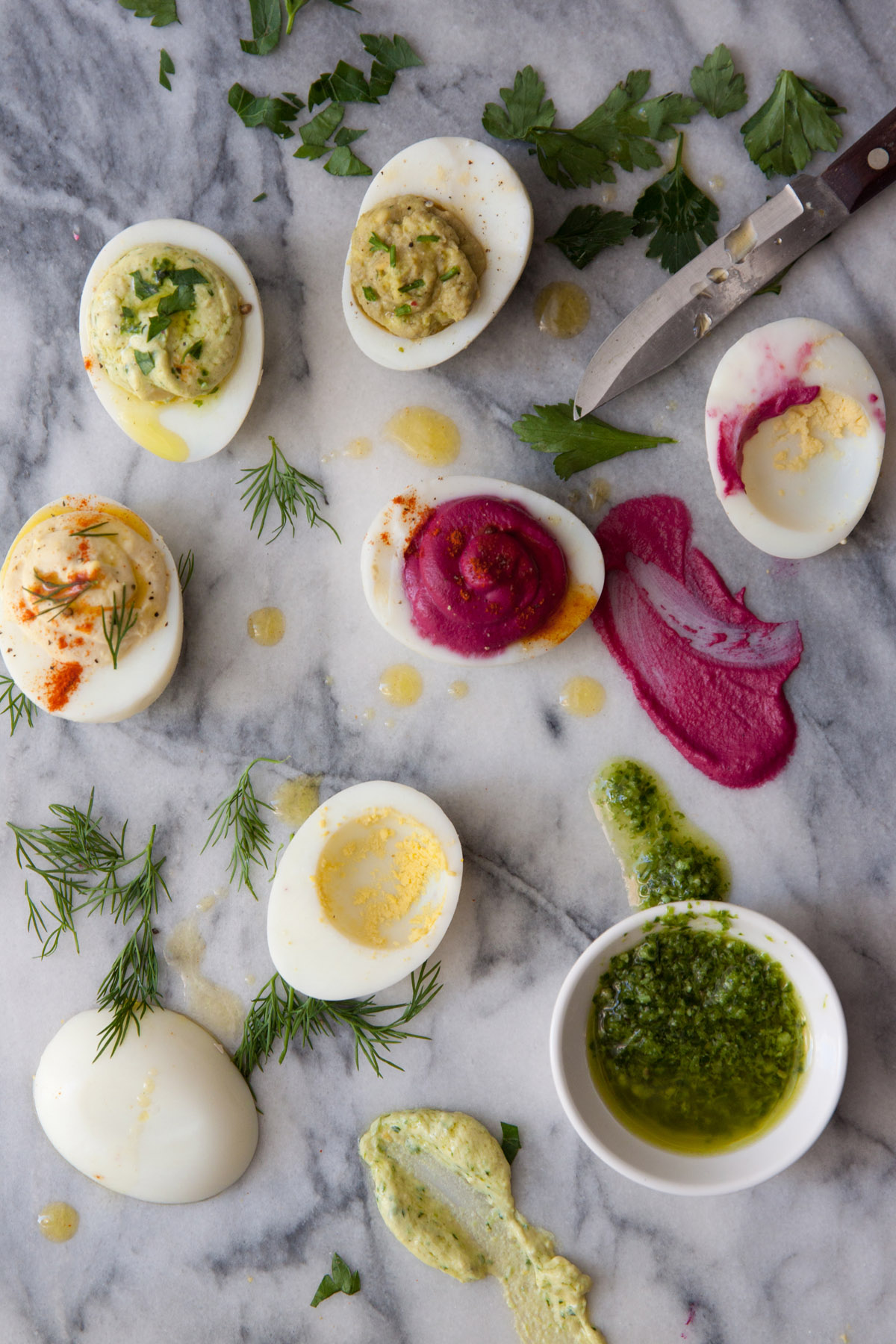 Deviled Eggs with Greek Yogurt