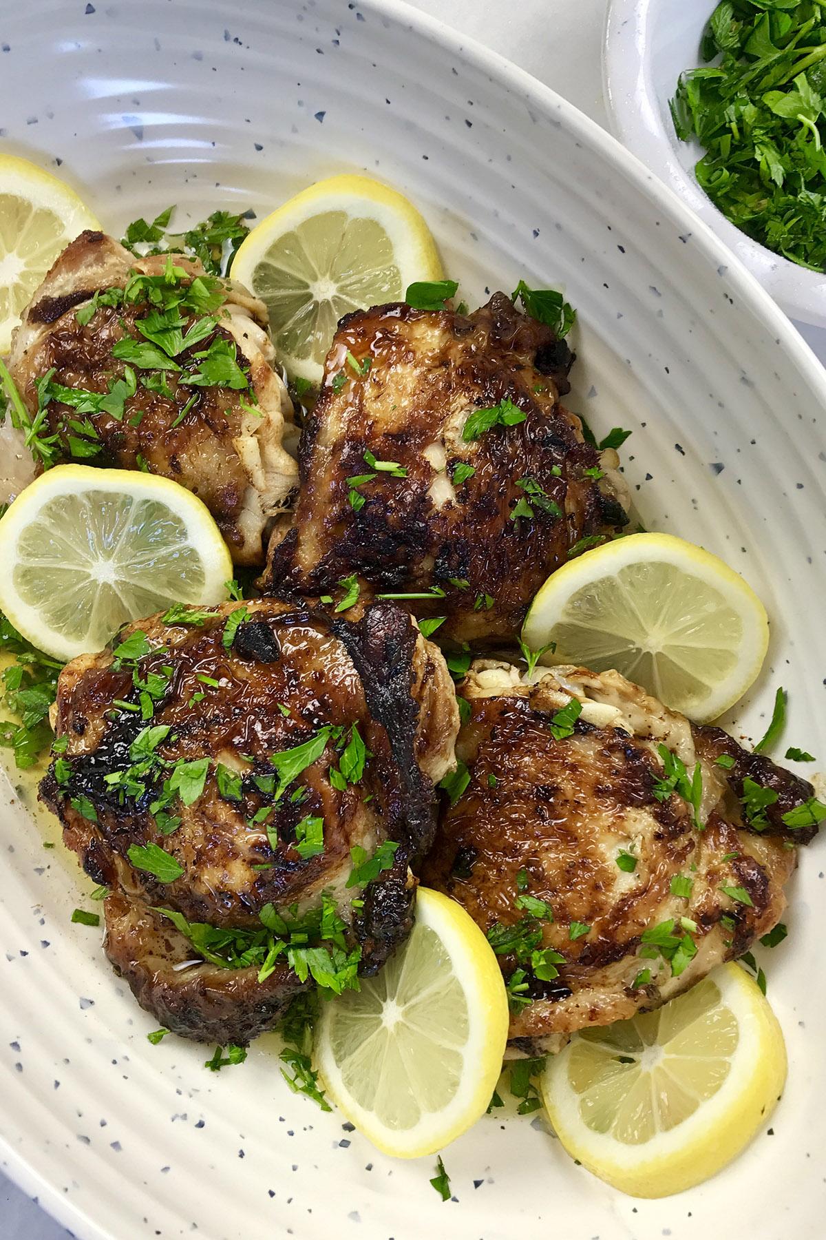 Easy Skillet Lemon Chicken