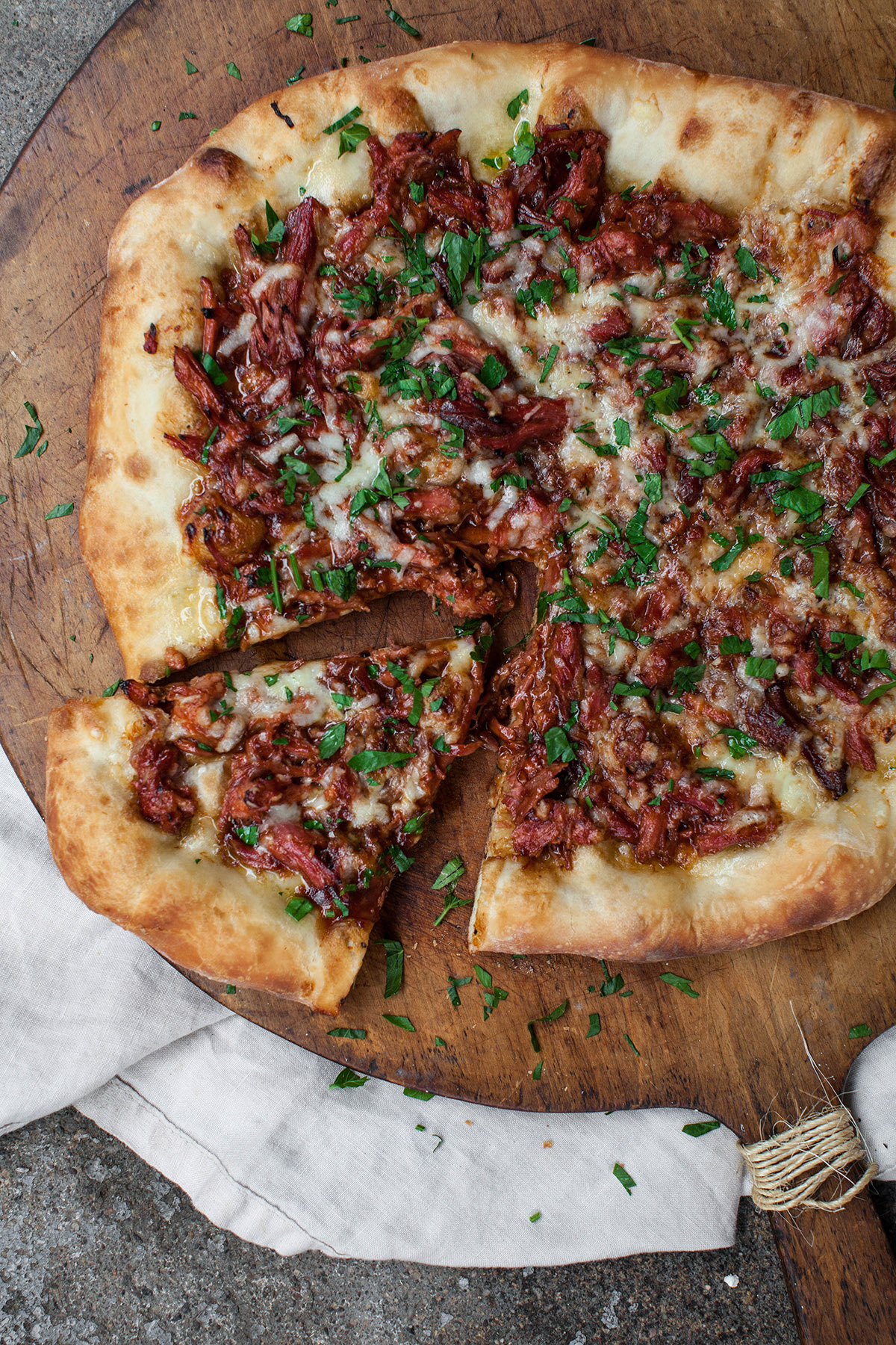 Zaza's Perfect Pulled Pork Pizza