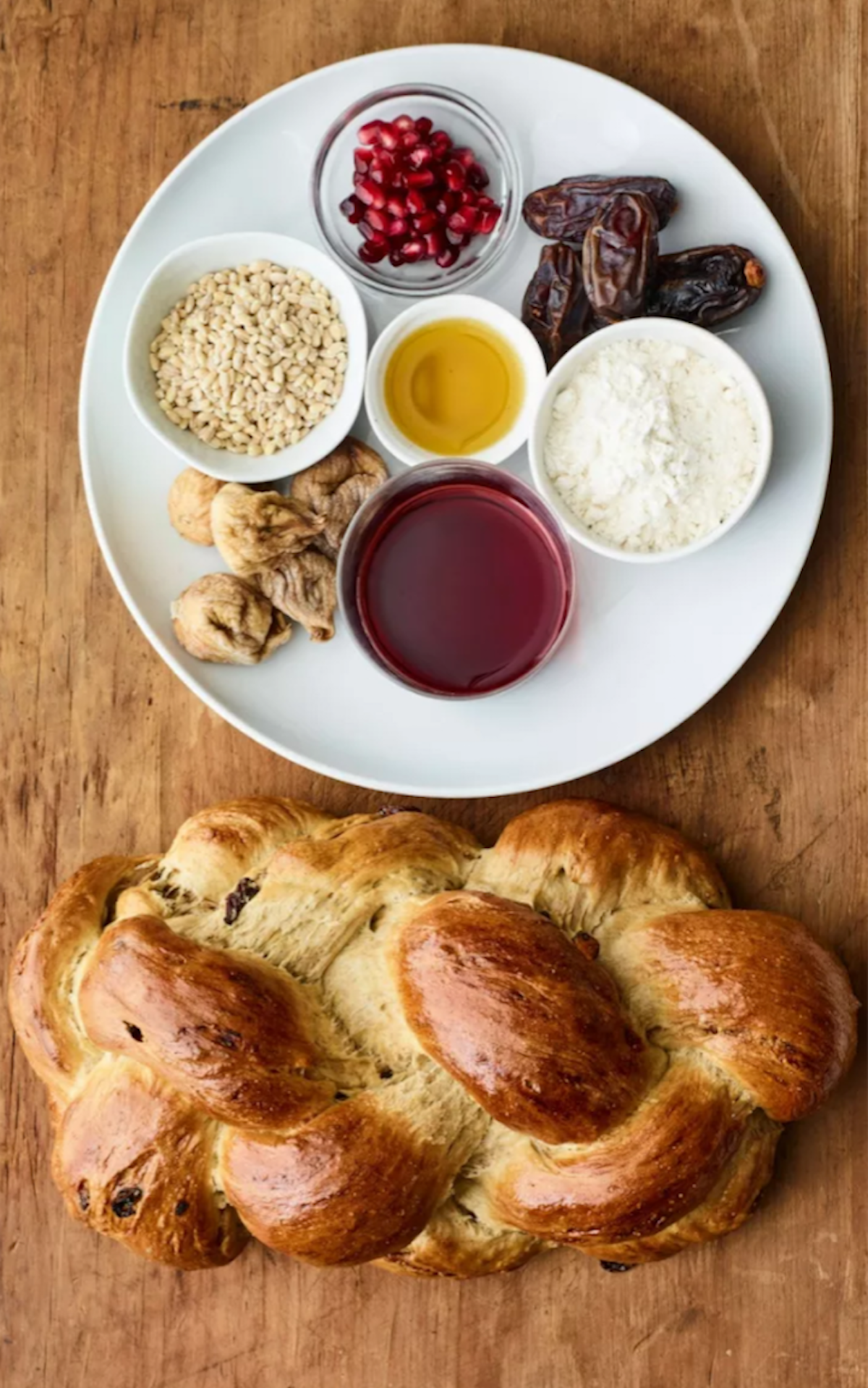 Challah with Seven Spices