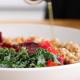 Vegan Farro Bowls with Miso Vinaigrette