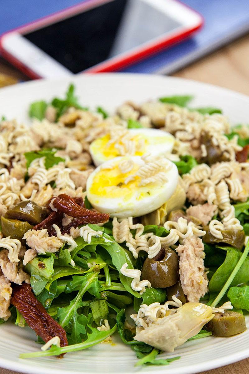 Italian Ramen Salad