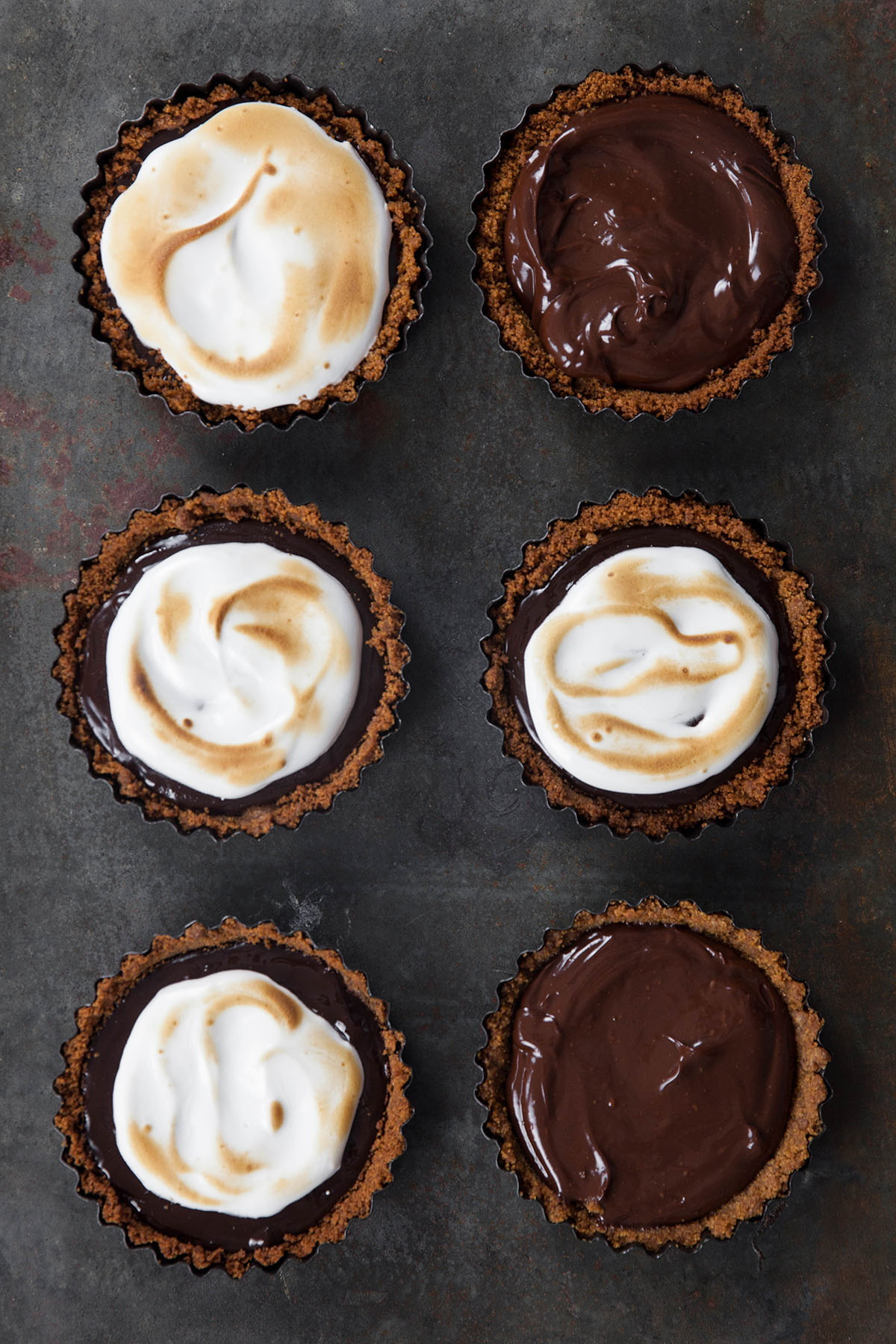 Ghost S'mores Tarts
