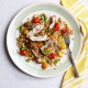 Summery Farro and Grilled Chicken Salad