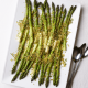Roasted Asparagus with Panko and Garlic