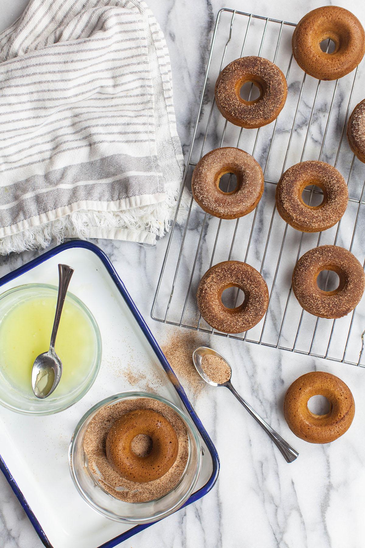 Cider Baked Donuts