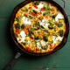 Frittata with Broccoli and Heirloom Cherry Tomatoes