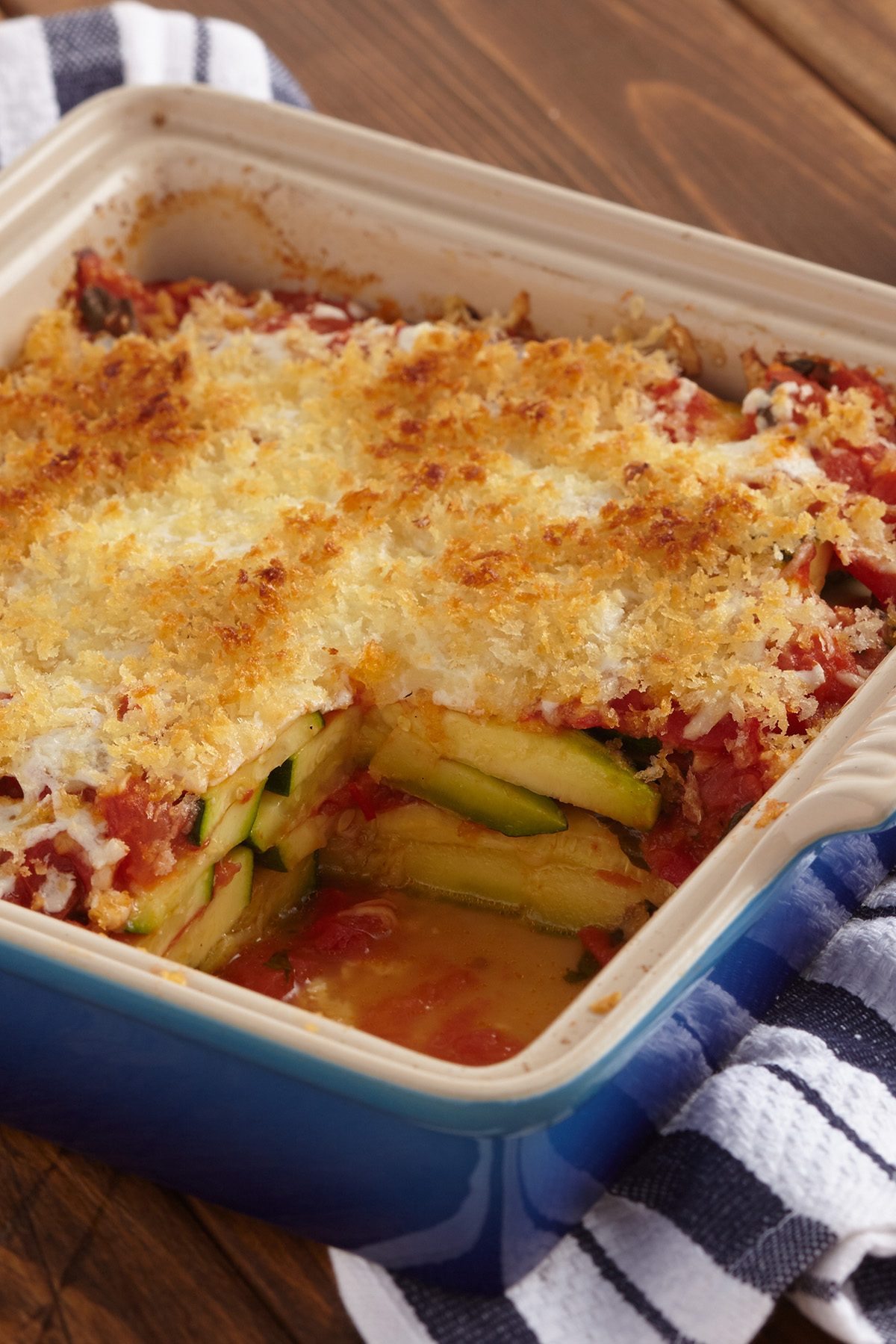 Roasted Zucchini Parmesan