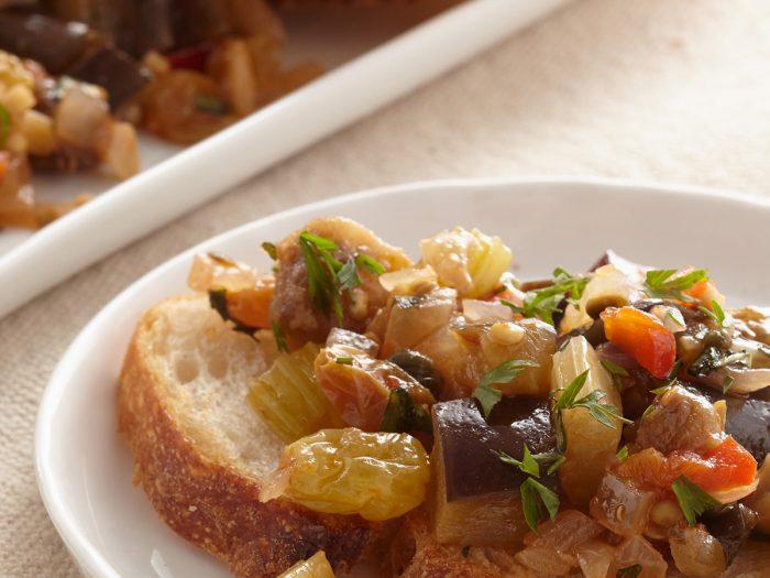 Sautéed Eggplant Carbonata