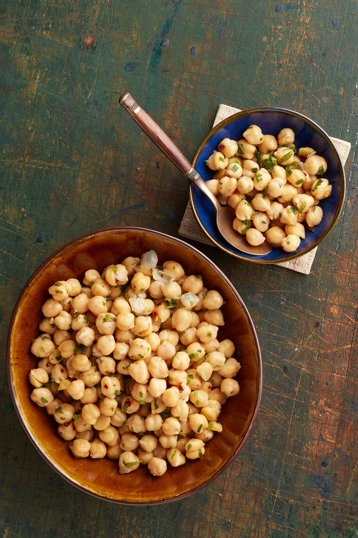 Chickpea Salad with Fresh Herbs