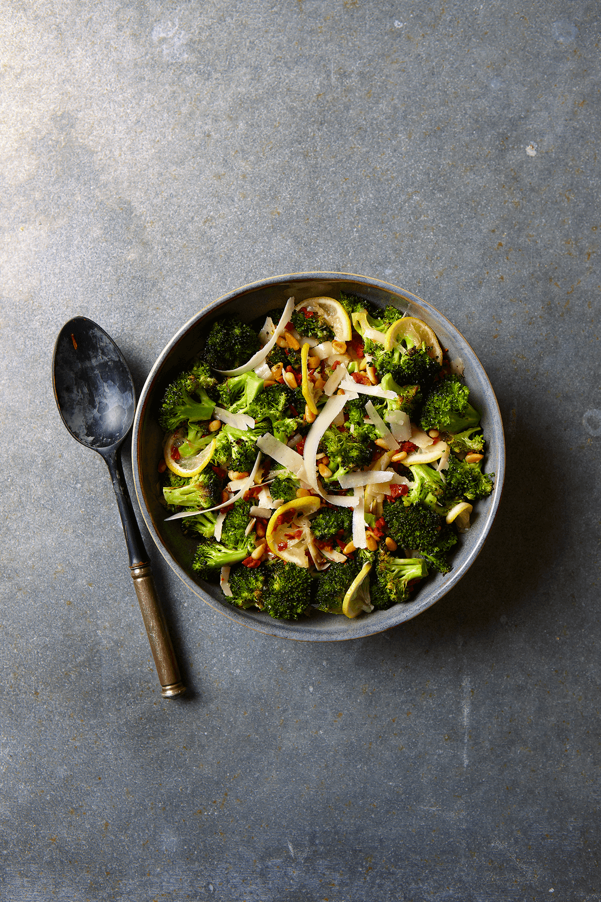 Roasted Broccoli with Sun-Dried Tomatoes