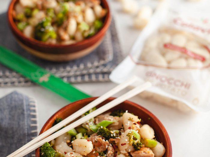 Asian-Inspired Gnocchi