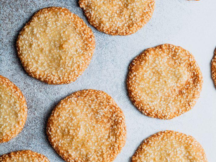 Sesame Seed Crisps