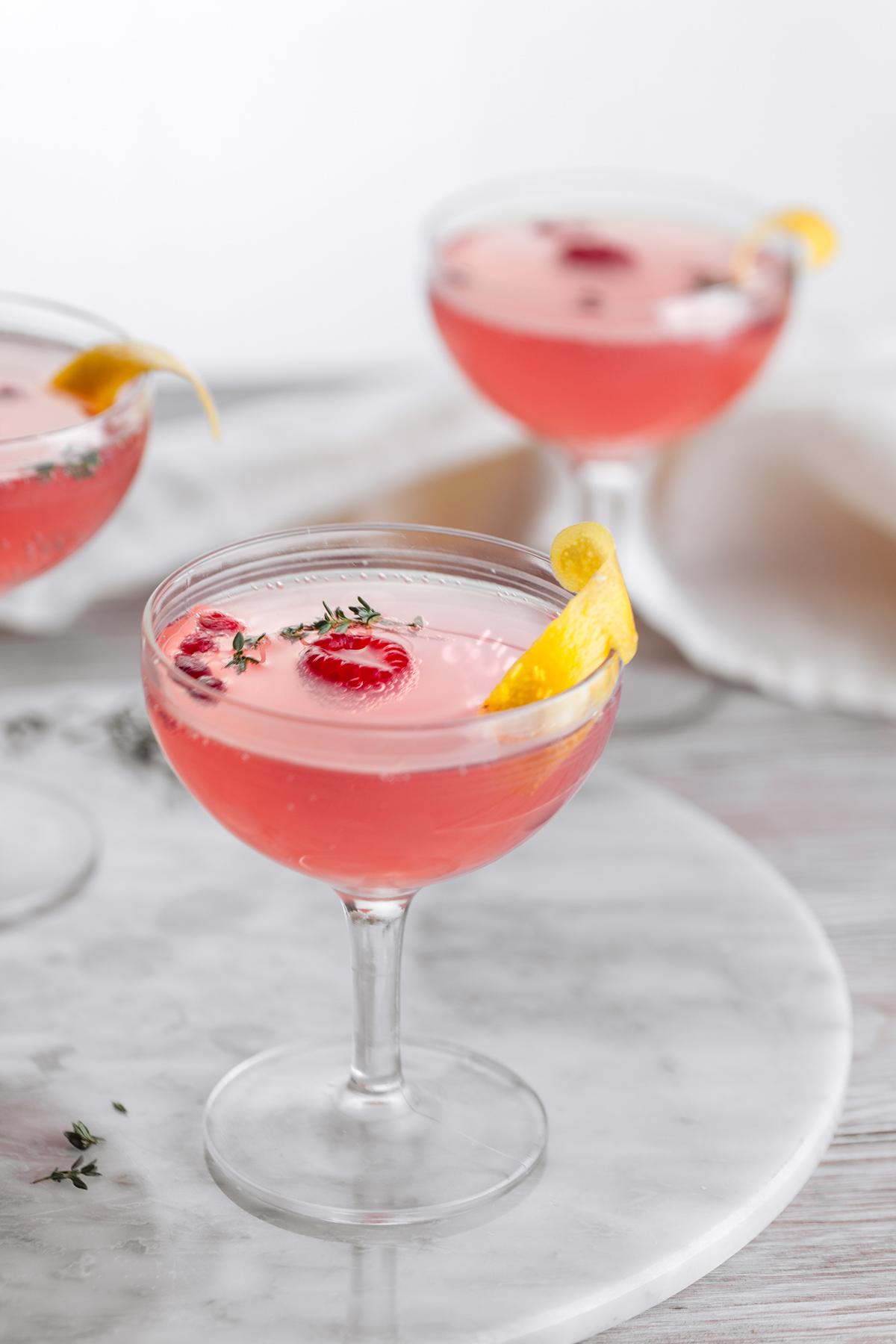 Pomegranate Sparkling Cosmo