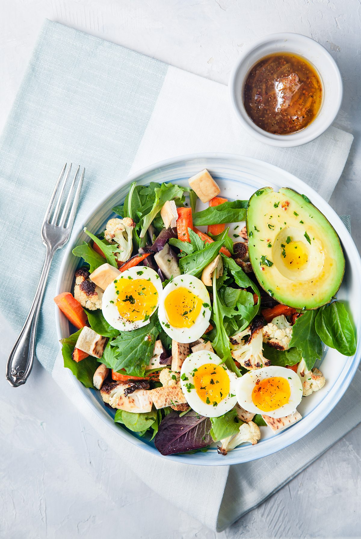 Vegetable Breakfast Salad