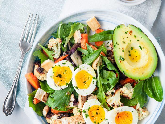 Vegetable Breakfast Salad