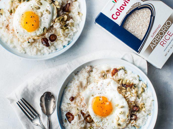 Rice Porridge with Eggs